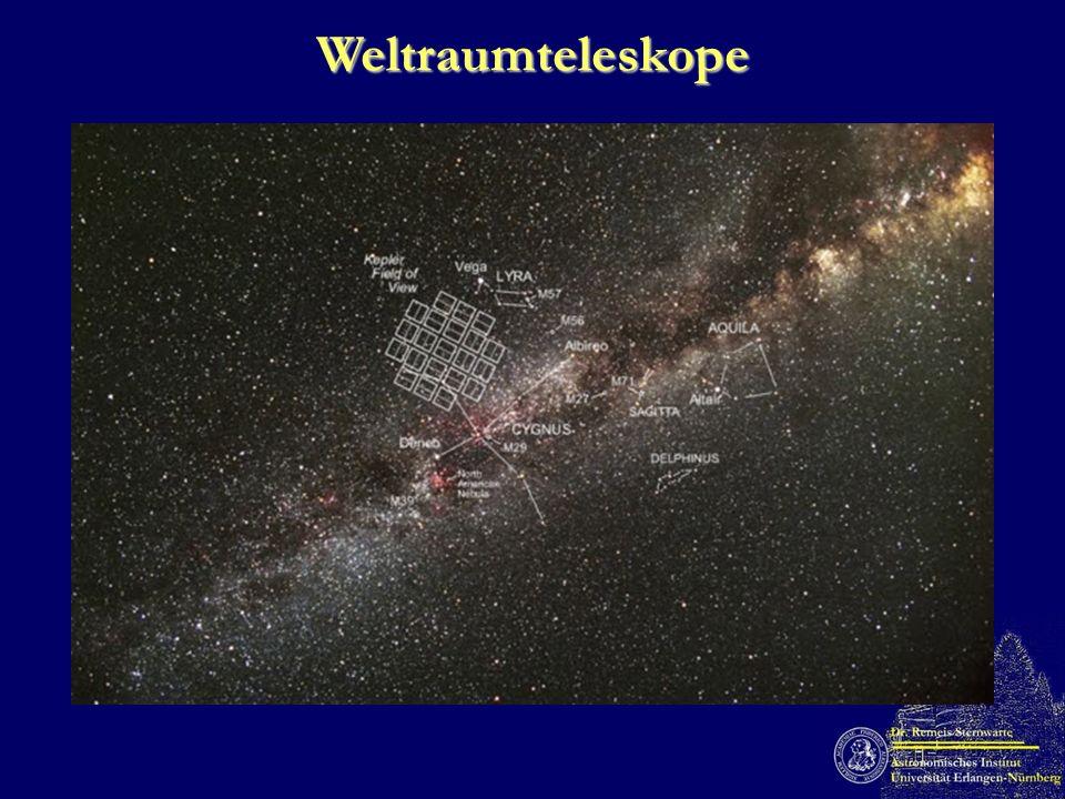 Weltraumteleskope (Ostensen et al. 2010)
