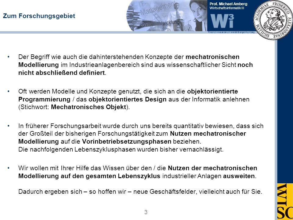 Friedrich-Alexander-Universität Erlangen-Nürnberg Prof. Michael Amberg Wirtschaftsinformatik III Zum Forschungsgebiet Der Begriff wie auch die dahinte