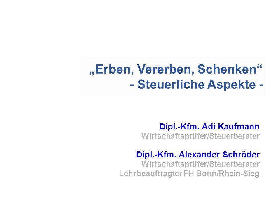 Dipl.-Kfm.Adi Kaufmann Wirtschaftsprüfer/Steuerberater Dipl.-Kfm.