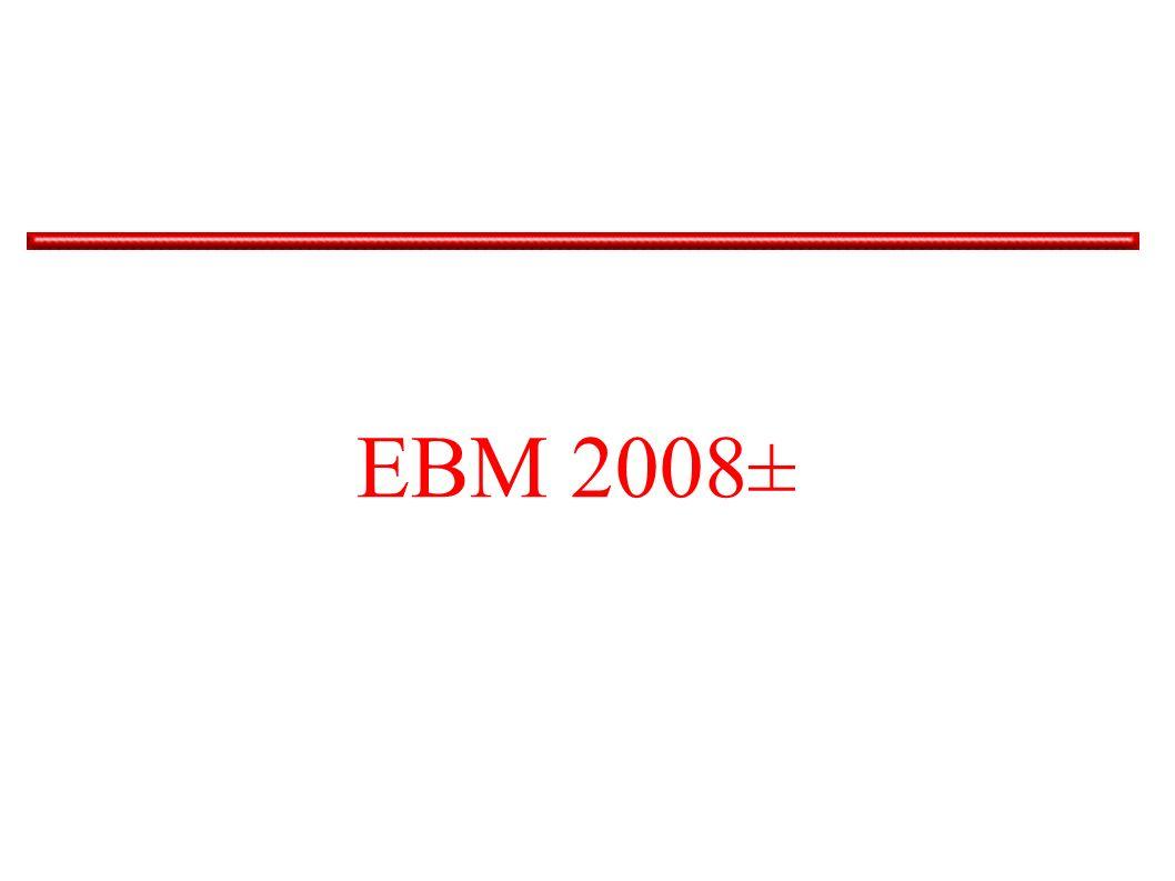 EBM 2008±