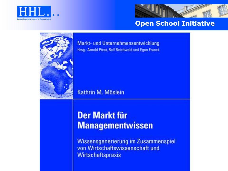 Open School Initiative Vielen Dank für Ihre Aufmerksamkeit.