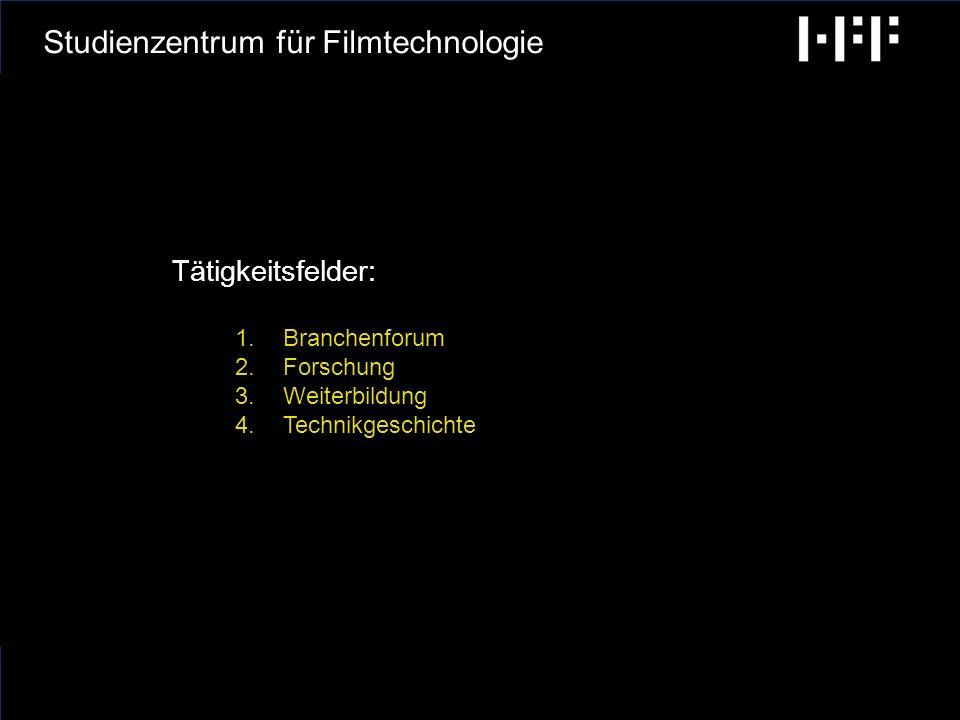 radiobremen GCA Ingenieure AG Hochschule für Fernsehen und Film München Studienzentrum für Filmtechnologie Verwendungszweck der Förderung: Finanzierung der Gründungsphase