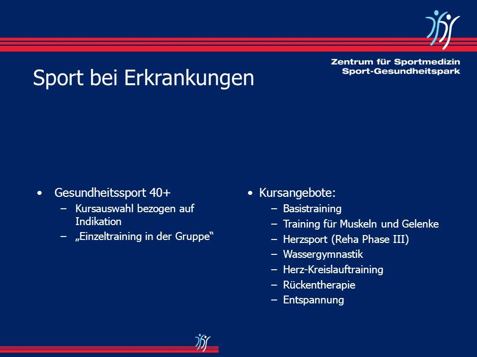 Grundlagen für den Sportlehrer: –Untersuchungsbogen –med.