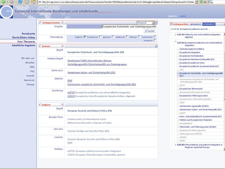 Michael Kluck April 2007 Humboldt-Universität zu Berlin, Institut für Bibliotheks- und Informationswissenschaft, Bereich Fernstudium 19