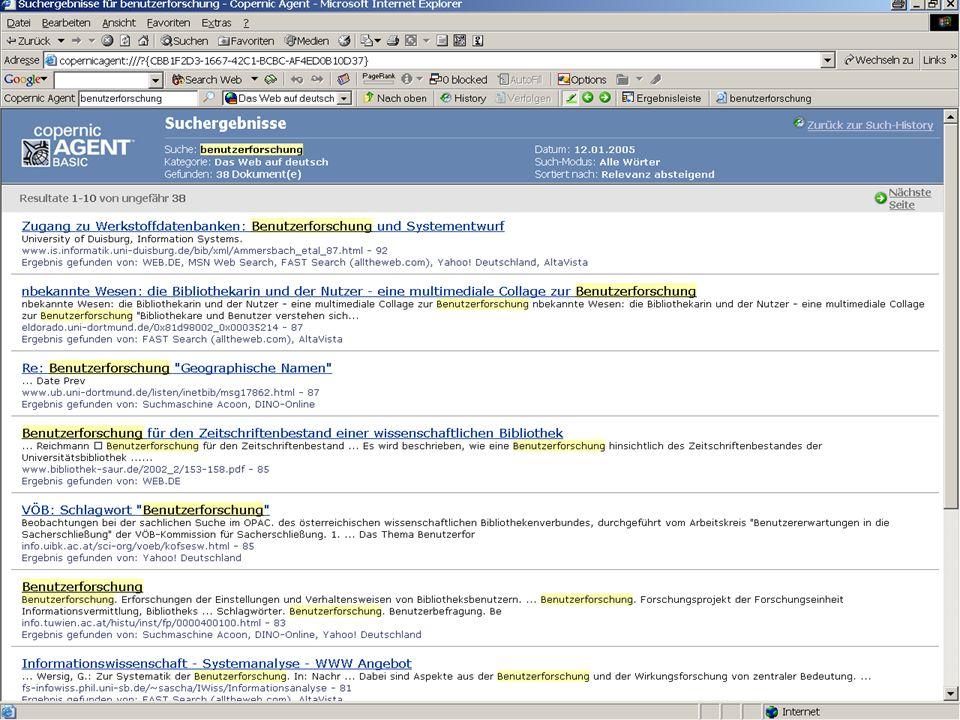 Michael Kluck April 2007 Humboldt-Universität zu Berlin, Institut für Bibliotheks- und Informationswissenschaft, Bereich Fernstudium 5