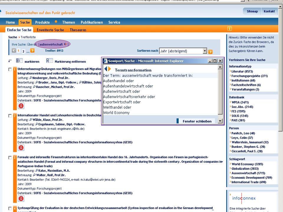Michael Kluck Juni 2011 Humboldt-Universität zu Berlin, Institut für Bibliotheks- und Informationswissenschaft, Bereich Fernstudium 18
