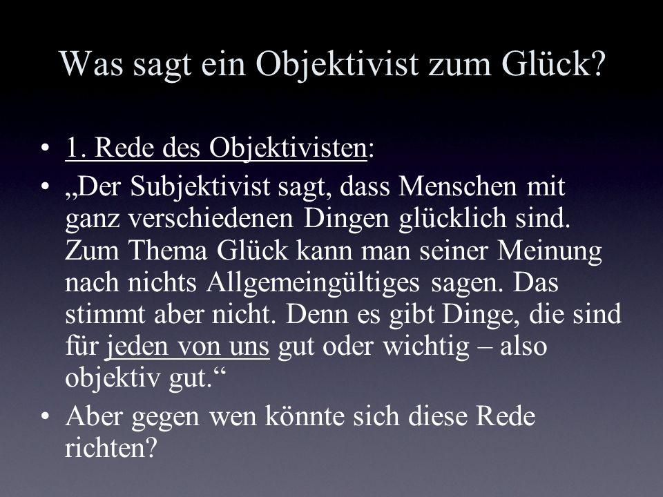 Objektive Listen Auch objective-list-theories des guten Lebens genannt Darunter versteht Parfit (1984, S.