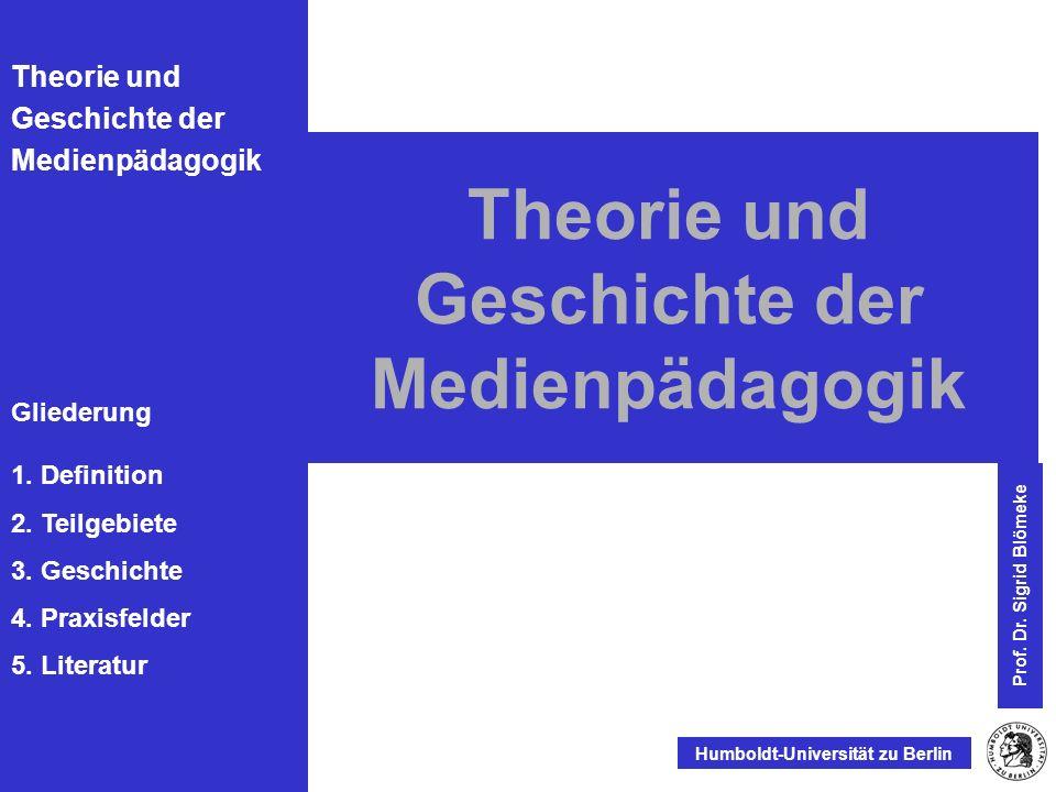 Gliederung 1.Definition 2. Teilgebiete 3. Geschichte 4.