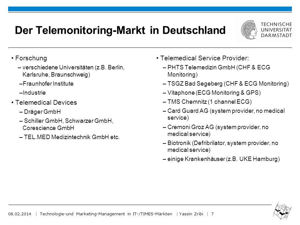 08.02.2014   Technologie-und Marketing-Management in IT-/TIMES-Märkten   Yassin Zribi   8 Was ist für den Erfolg nötig.