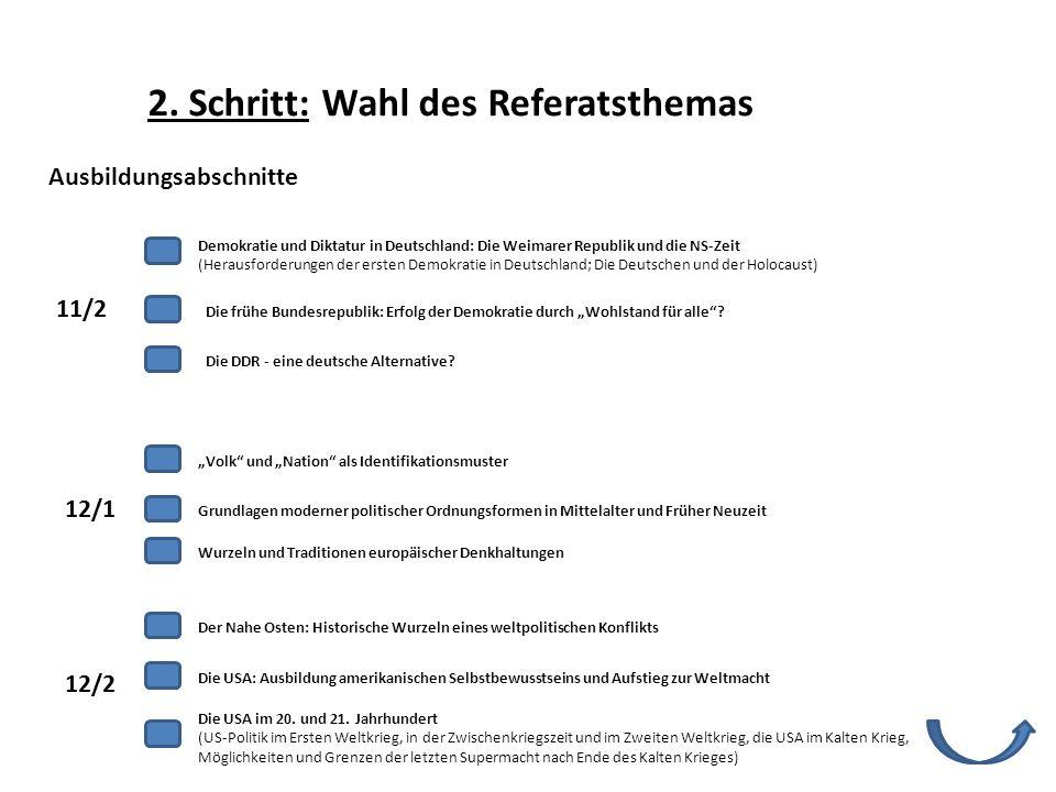 Die frühe Bundesrepublik: Erfolg der Demokratie durch Wohlstand für alle? Die DDR - eine deutsche Alternative? Volk und Nation als Identifikationsmust