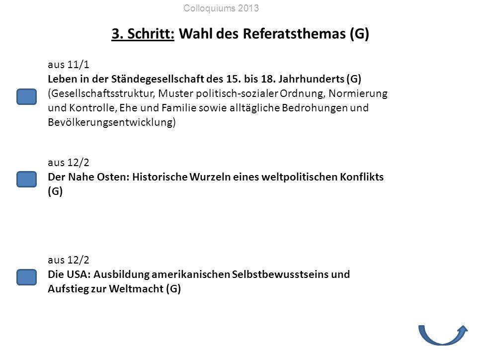 aus 11/1 Leben in der Ständegesellschaft des 15.bis 18.