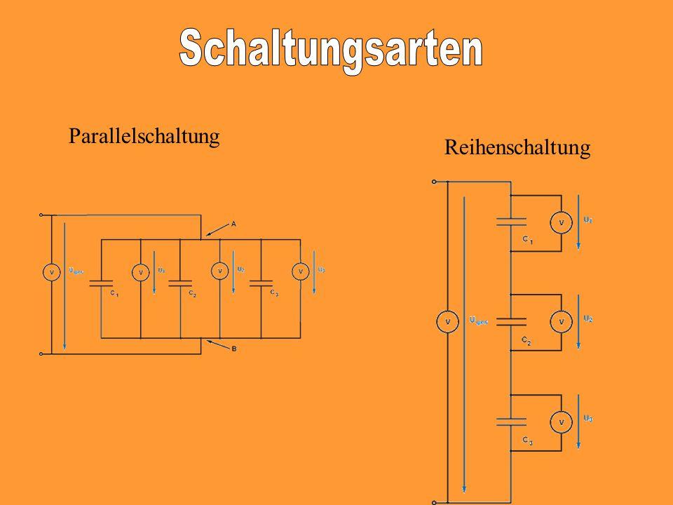 Parallelschaltung Reihenschaltung