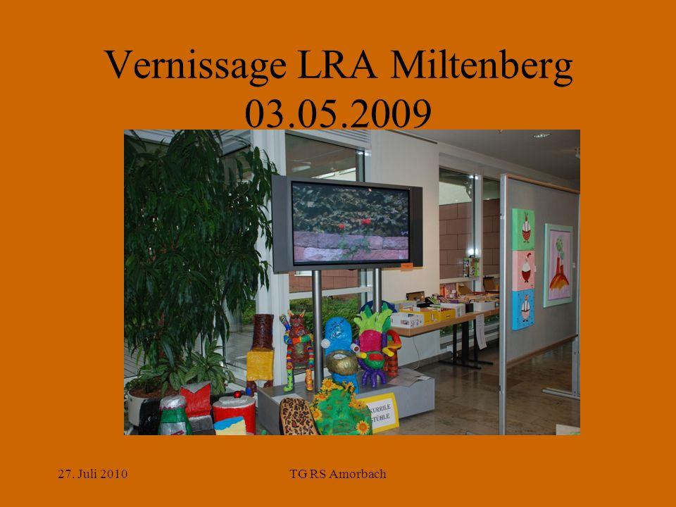 27. Juli 2010TG RS Amorbach Vernissage LRA Miltenberg 03.05.2009