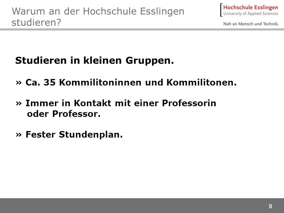 20 Studieninfotag Göppingen Programm 12:00 UhrVorstellung der HEProf.