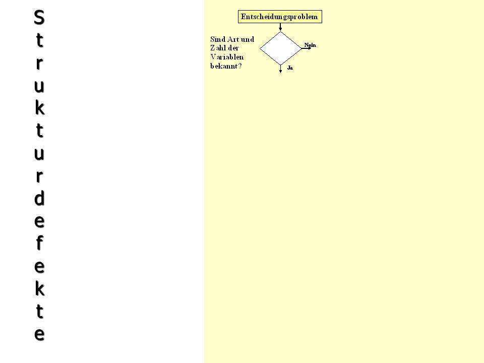 StrukturdefekteStrukturdefekteStrukturdefekteStrukturdefekte