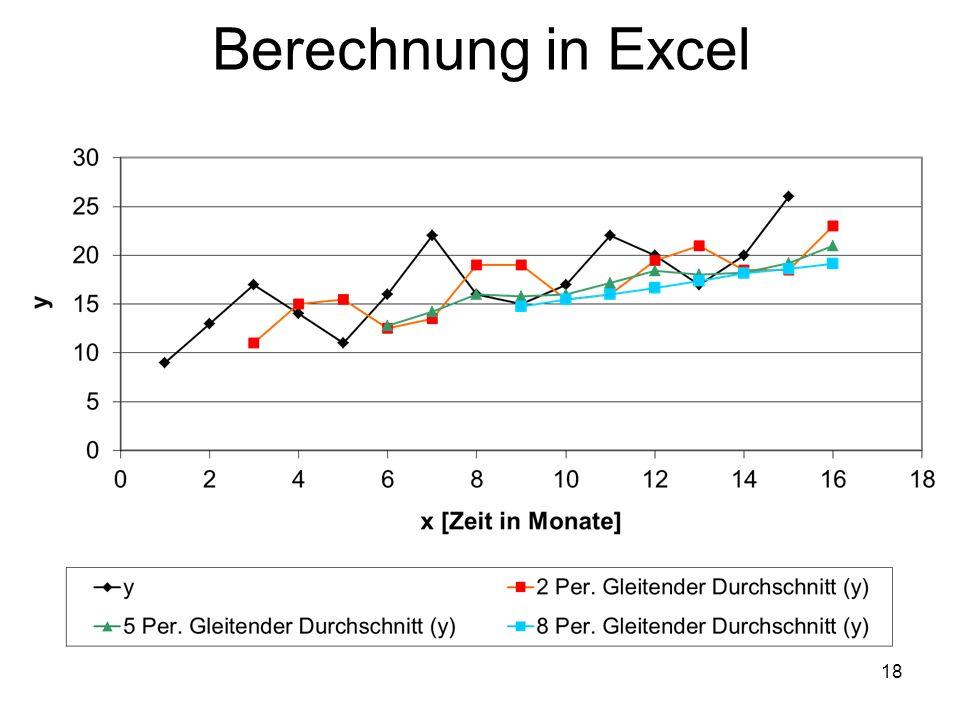 Berechnung in Excel 18
