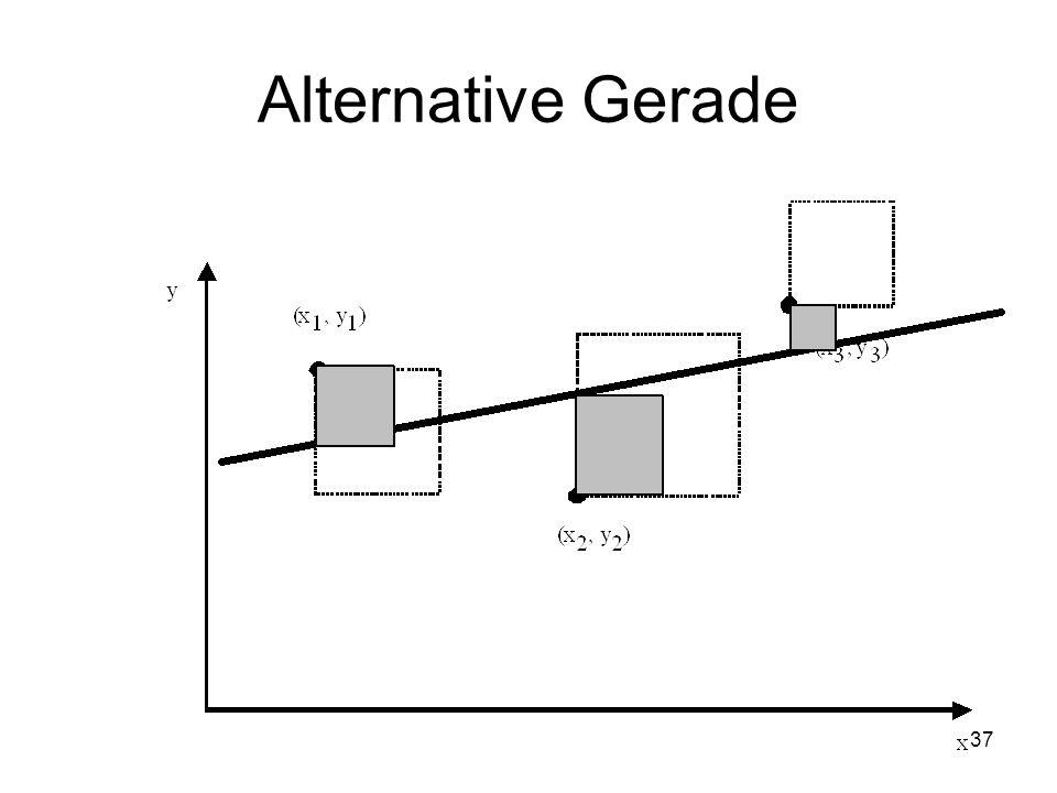 Alternative Gerade 37