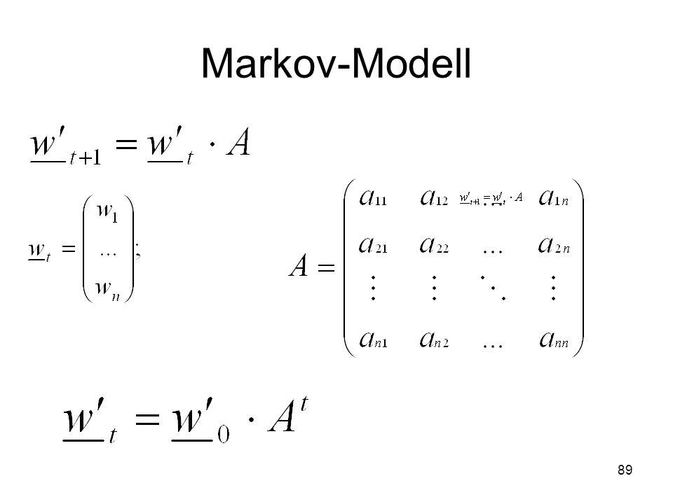 Markov-Modell 89