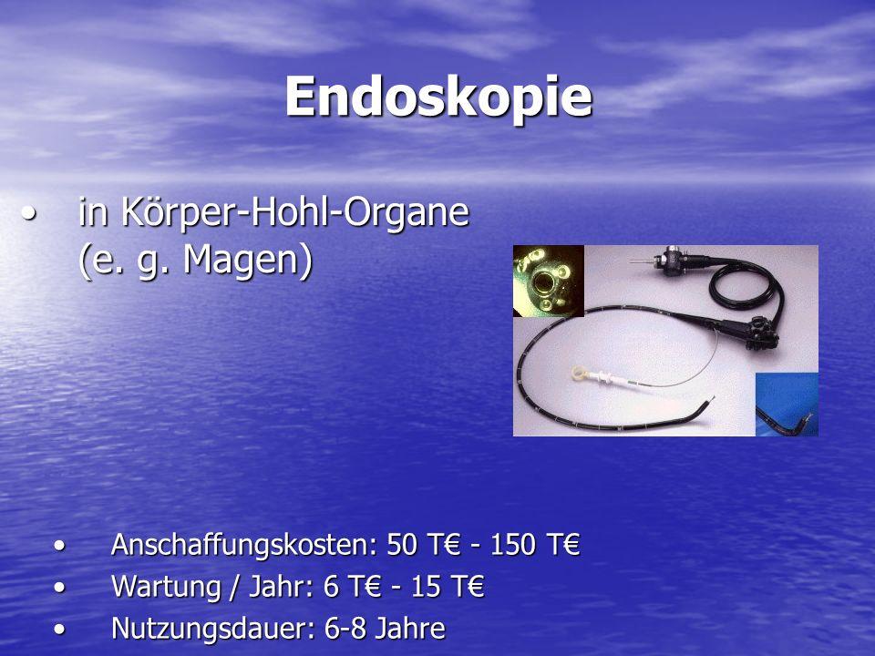 Endoskopie in Körper-Hohl-Organe (e.g. Magen)in Körper-Hohl-Organe (e.