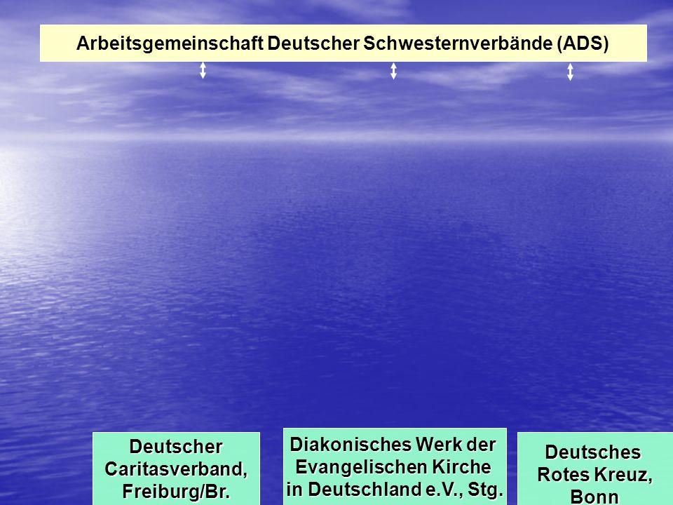 Arbeitsgemeinschaft Deutscher Schwesternverbände (ADS) DeutscherCaritasverband,Freiburg/Br.