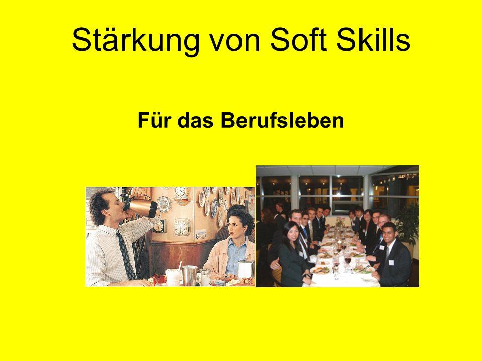 Stärkung von Soft Skills Für das Berufsleben