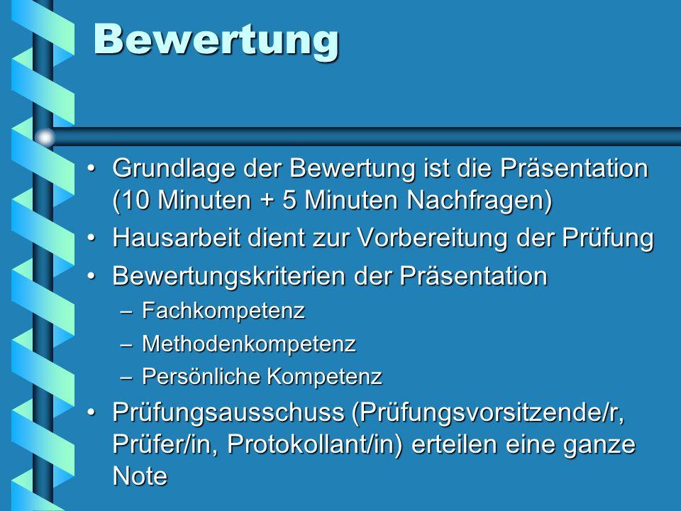 Schriftliche Prüfungen Landeseinheitliche Arbeiten 13.