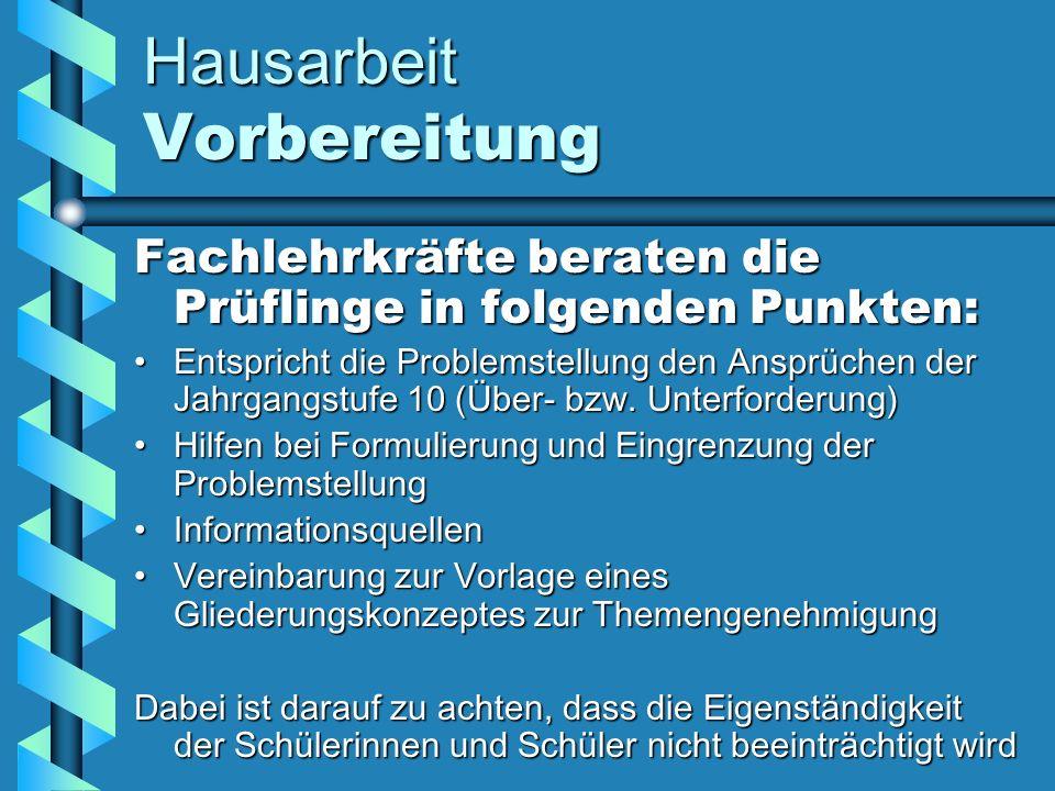 Hausarbeit Anforderungen Inhaltlich Klares GliederungskonzeptKlares Gliederungskonzept (z.B.