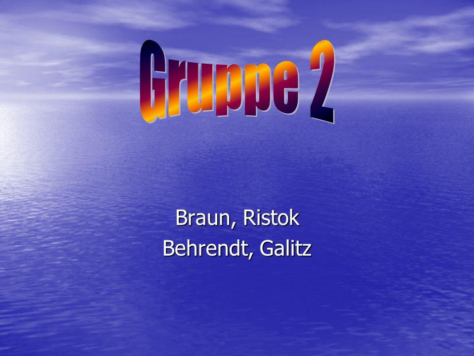 Braun, Ristok Behrendt, Galitz