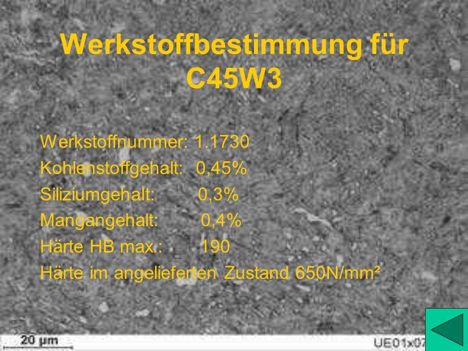 Härtewerte von X155CrVMo12 1 Temperatur: 1020....1040 Härtedauer: 60min. Abschreckmittel: Öl, Luft Arbeitshärte: 62HB Anlasstemperatur: 180....250 Anl