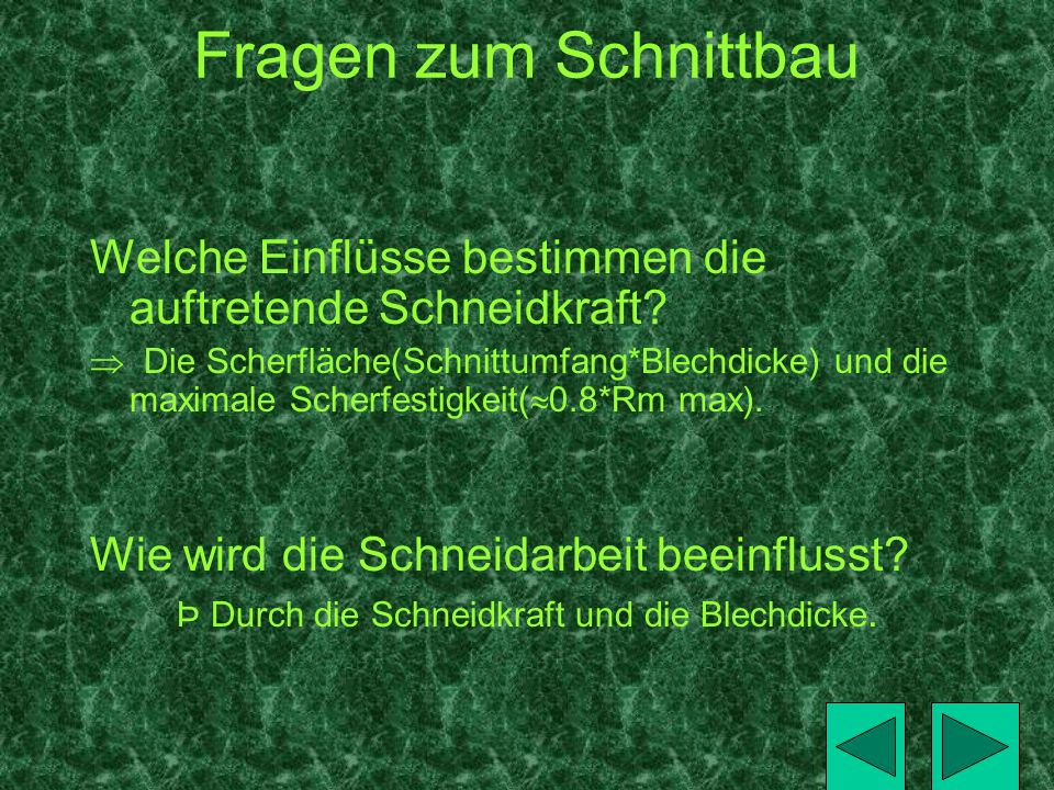 Durchbruch Berechnung Ausschneiden (Schneidplatte) Ao,sch = Au,f + 1/5T + H 28 (+0,1/+0,2) = + 0,1 + 0,02 + 0,01 T = 0,1 = 0,13mm H = 0,01 Au,sch = Au,f + 1/5T = +0,1 + 0,02 = 0,12mm Schnittplattentoleranz Schnittplattentoleranz: R5 (+0,075/+0,095) 28 (+0,13/+0,12)mm R3 (+0,075/+0,095) 25 (+0,13/+0,12)mm