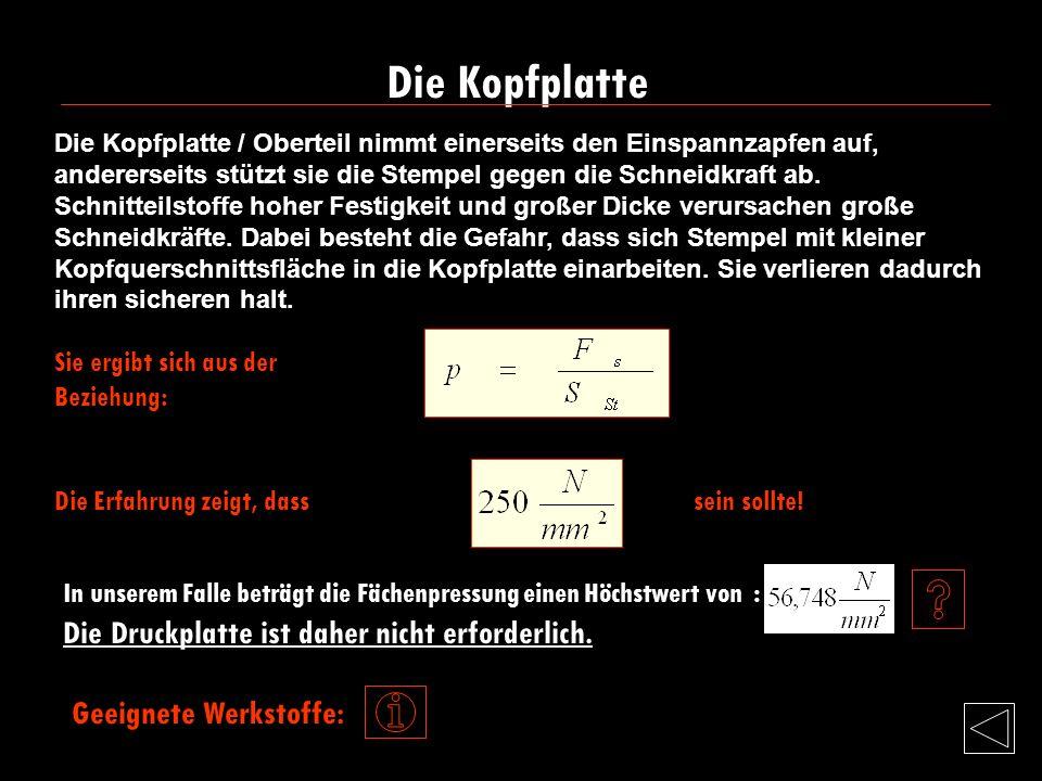 KopfplatteKopfplatte Druckplatte StempelplatteDruckplatteStempelplatte