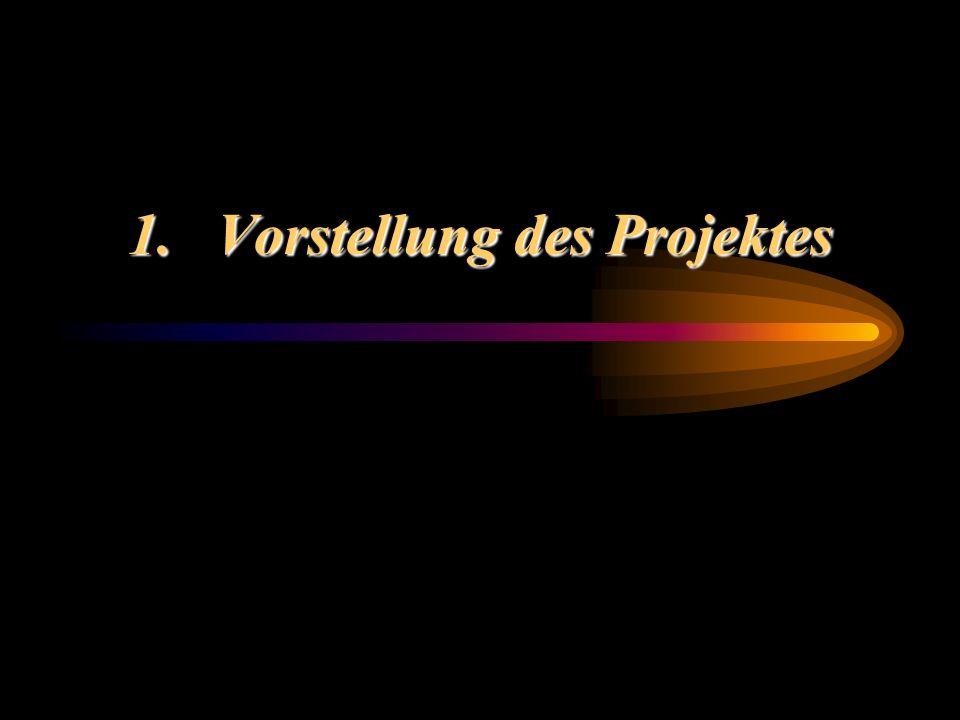 1.Vorstellung des Projektes