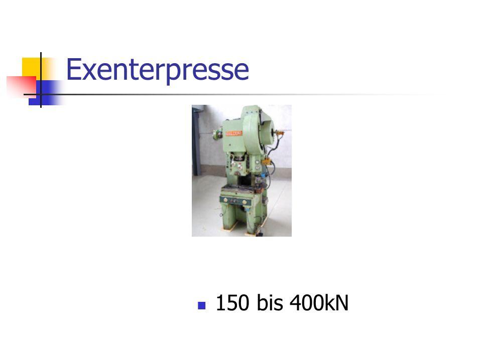 Exenterpresse 150 bis 400kN