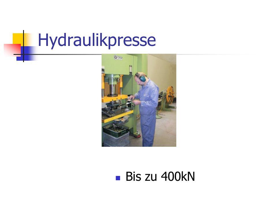 Hydraulikpresse Bis zu 400kN