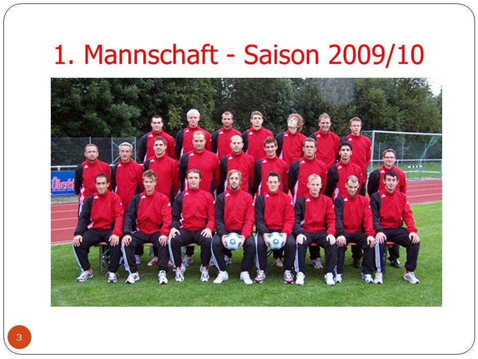 1. Mannschaft - Saison 2009/10 3