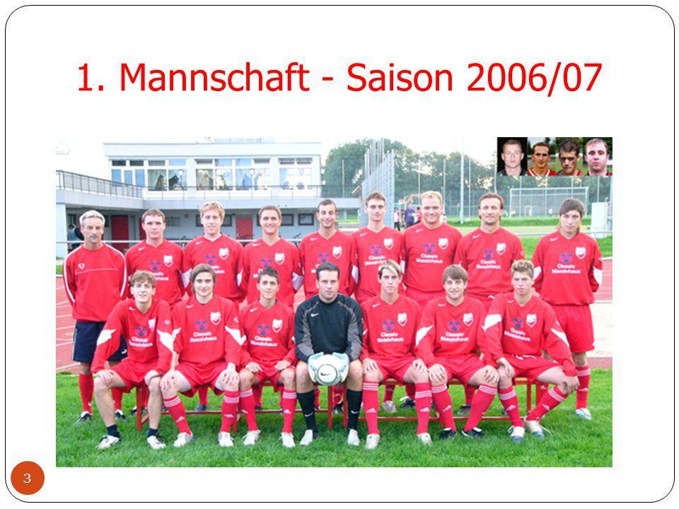 1. Mannschaft - Saison 2006/07 3