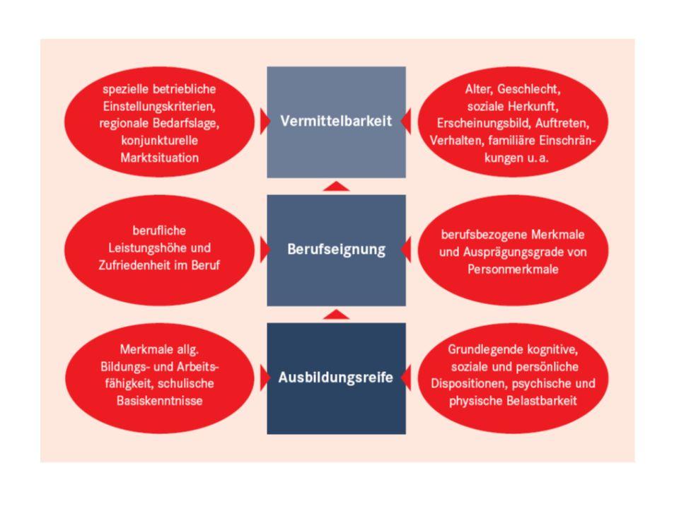 Kriterienkatalog zur Ausbildungsreife
