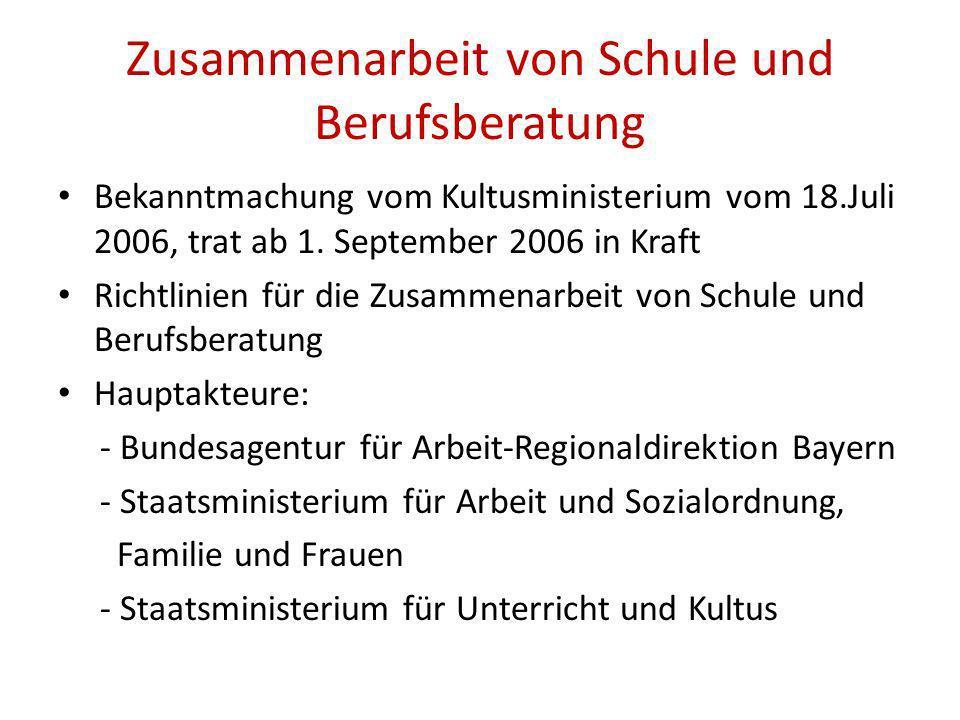 Bekanntmachung vom Kultusministerium vom 18.Juli 2006, trat ab 1.