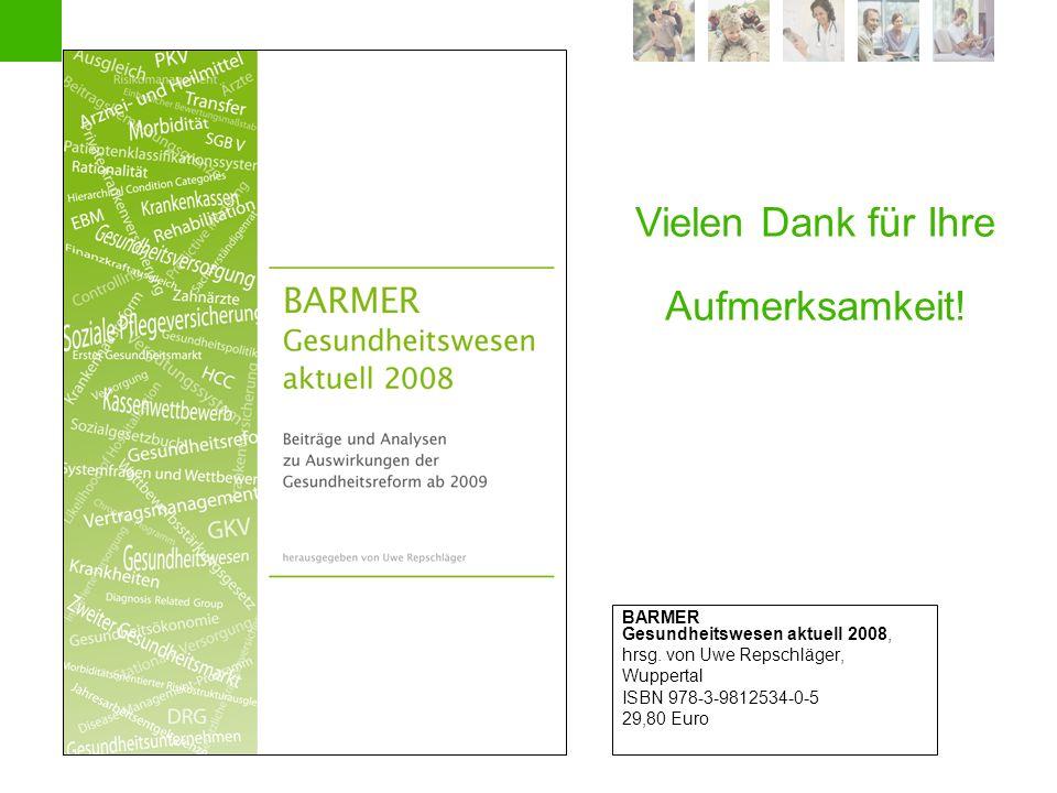 Individualvertragliches Handeln im Krankenhaus | Köln, 17.9.2008 | 27 BARMER Gesundheitswesen aktuell 2008, hrsg. von Uwe Repschläger, Wuppertal ISBN