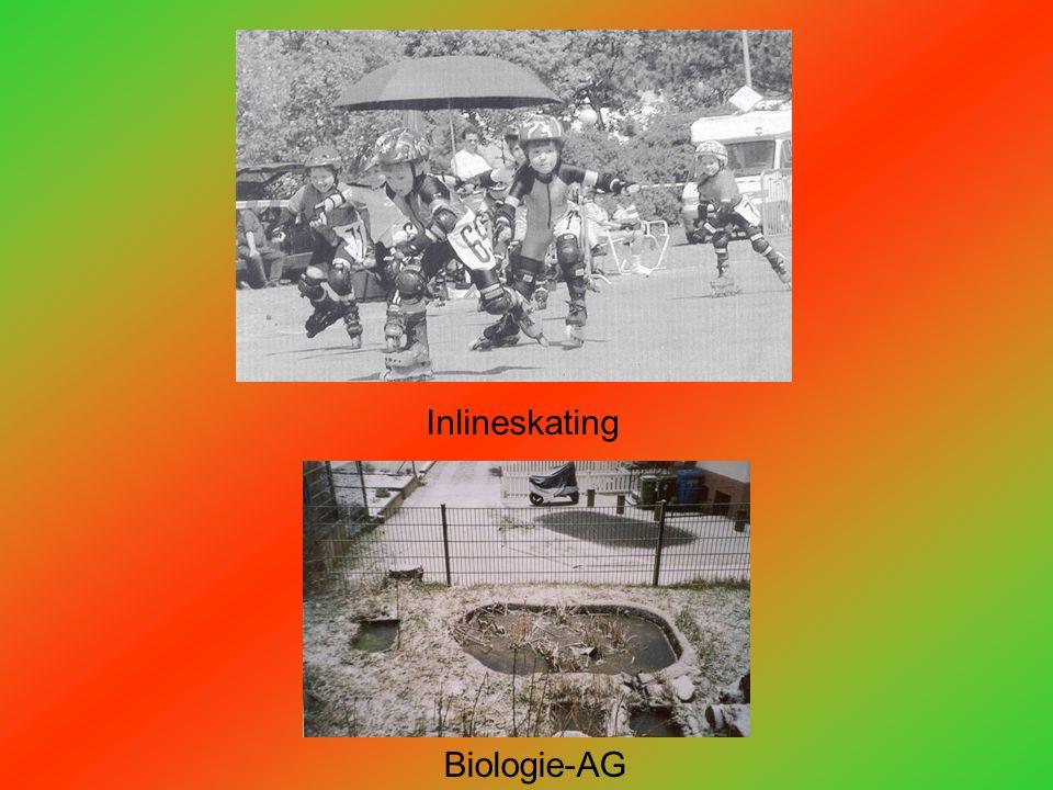 Inlineskating Biologie-AG