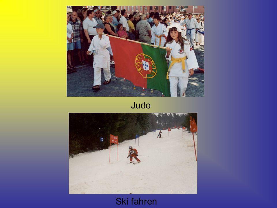 Judo Ski fahren