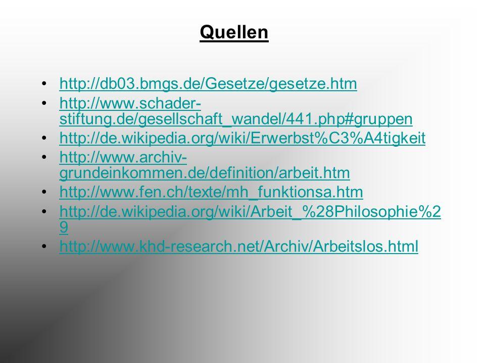 http://db03.bmgs.de/Gesetze/gesetze.htm http://www.schader- stiftung.de/gesellschaft_wandel/441.php#gruppenhttp://www.schader- stiftung.de/gesellschaf