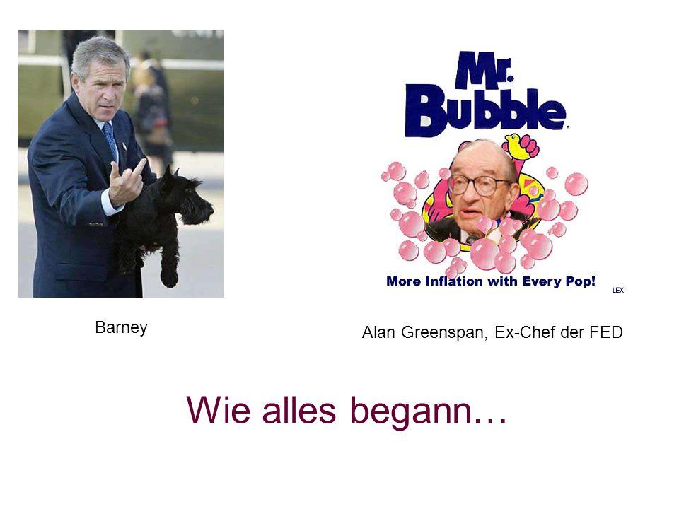 Barney Alan Greenspan, Ex-Chef der FED Wie alles begann…