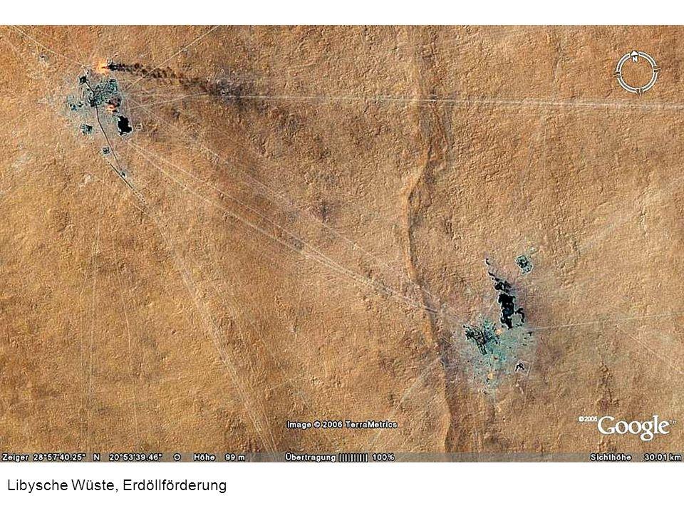 Libysche Wüste, Erdöllförderung