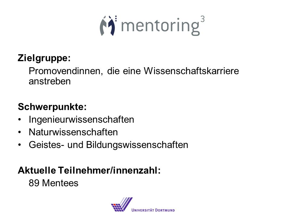 Was ist Mentoring.