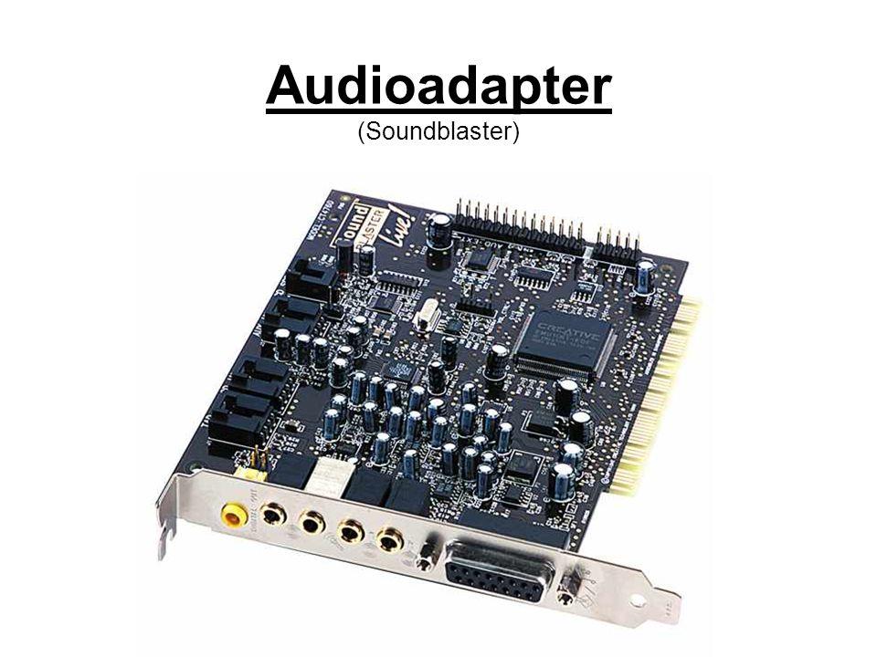 Audioadapter (Soundblaster)