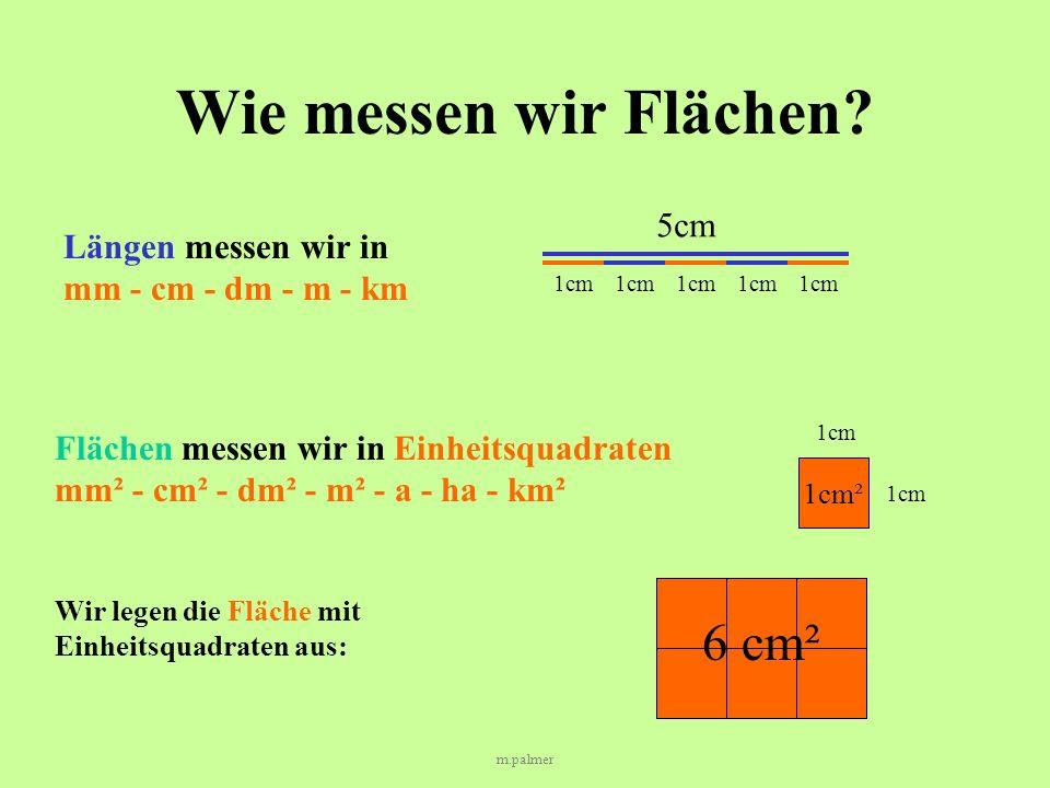 m.palmer Wie messen wir Flächen.