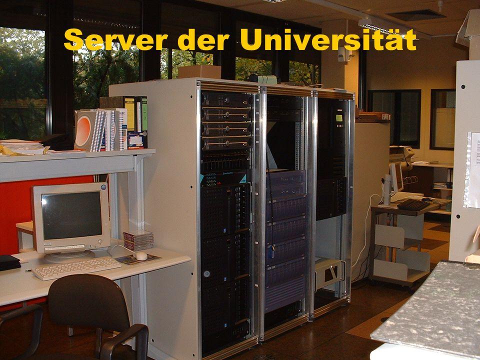 Server der Universität
