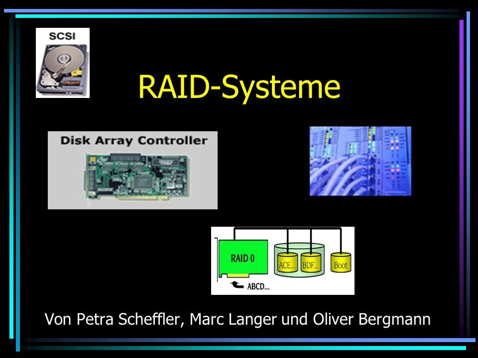 RAID-Systeme Von Petra Scheffler, Marc Langer und Oliver Bergmann