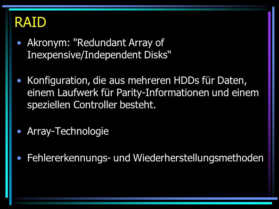 RAID Akronym: